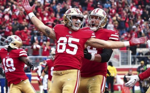 2d79dfdee Fantasy Football  3 Bold Predictions for Week 17 - George Kittle ...