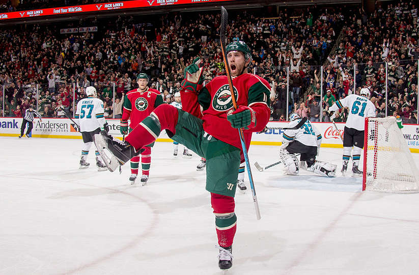 3 Daily Fantasy Hockey Stacks For 11 14 17 Minnesota Wild