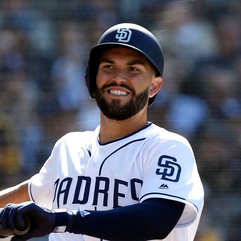 Eric Hosmer out of San Diego's Saturday lineup against Marlins