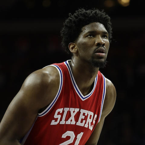 Joel Embiid (knee) questionable for 76ers Wednesday