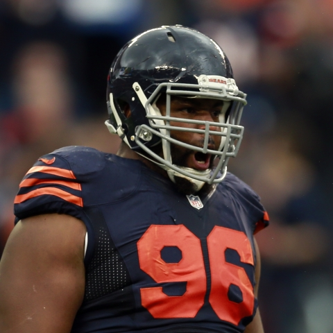 Bears' Akiem Hicks (hamstring) ruled out for Week 12's showdown with Green Bay
