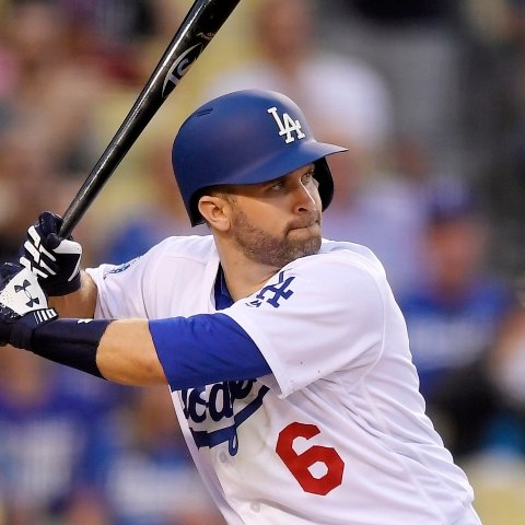 online store 0d59d a2d67 Brian Dozier not in Dodgers' Game 3 lineup