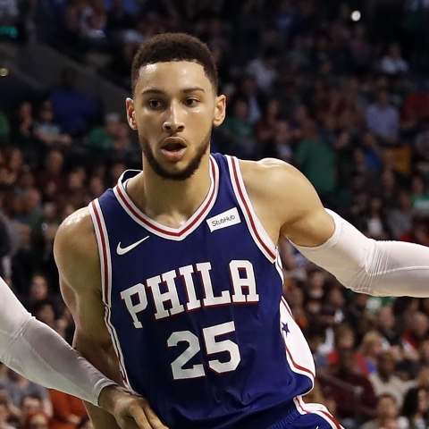 Ben Simmons records 20-point double-double in 76ers' win over Bulls