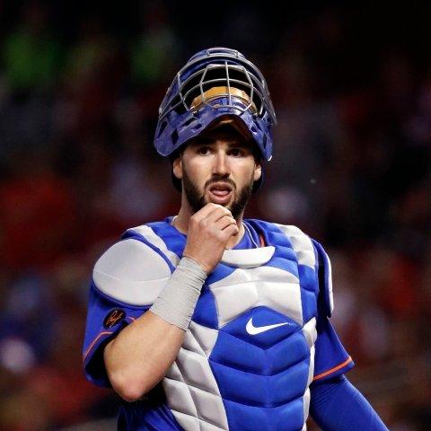 Tomas Nido batting eighth for Mets Sunday