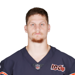 discount fd9c7 02718 Adam Shaheen (chest) limited in Bears' practice on Tuesday