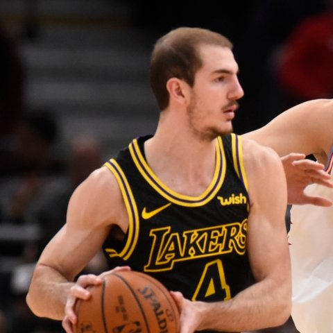 Lakers' Alex Caruso starting in Game 6 on Sunday, Dwight Howard coming off the bench
