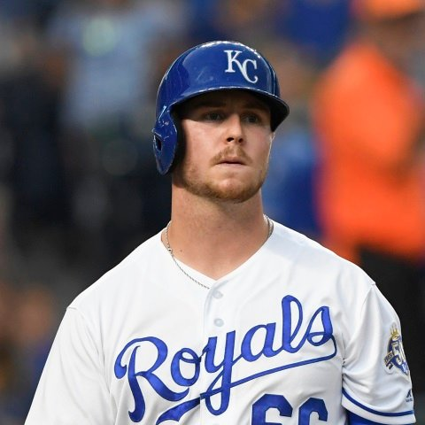 Ryan O'Hearn hitting seventh Monday afternoon for Royals