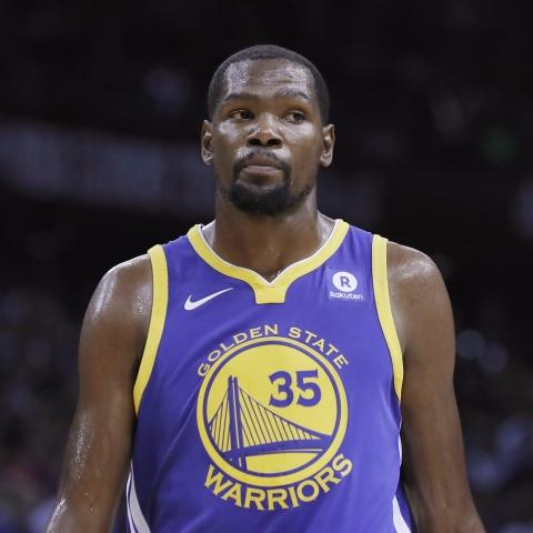 e1a39ed9aec Kevin Durant (illness) will play Wednesday for Golden State