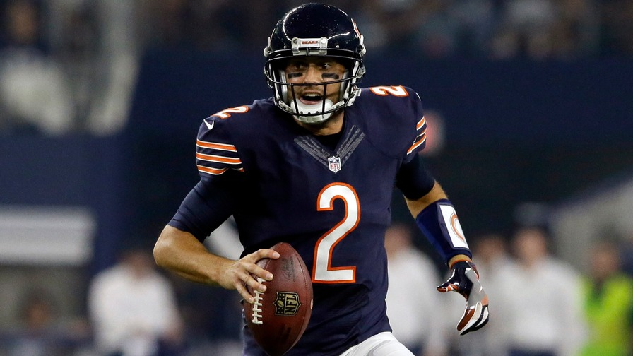 10989f03f90 Whether it's Brian Hoyer or Jay Cutler, the Bears' quarterback this week  will be in a sweet spot with a home matchup against Detroit.