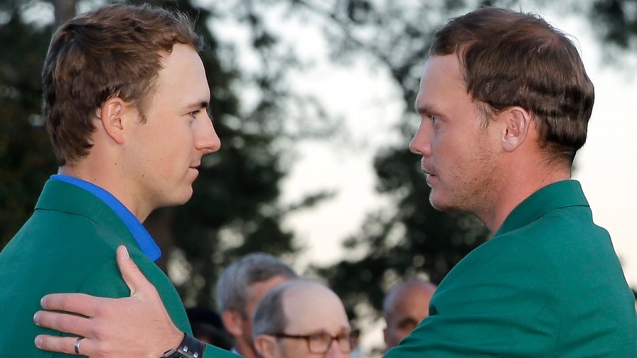 Spieth can laugh at last year's Masters disaster hole