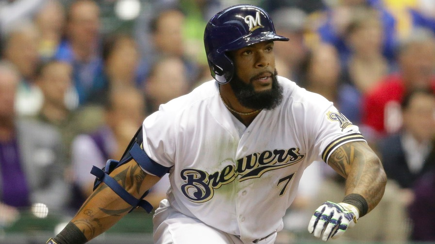 Braun, Thames homer to power Brewers over Reds 4-2