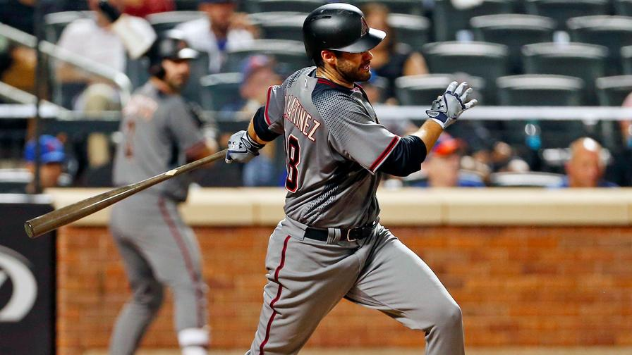 D-backs make most of homers in win over Giants