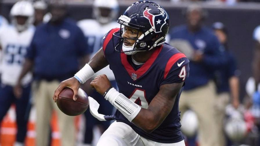 Texans star rookie quarterback Deshaun Watson out for season with ACL tear
