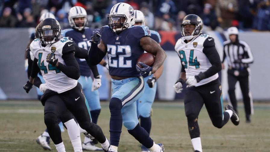 Titans' DeMarco Murray (knee) officially ruled out for Wild Card Round