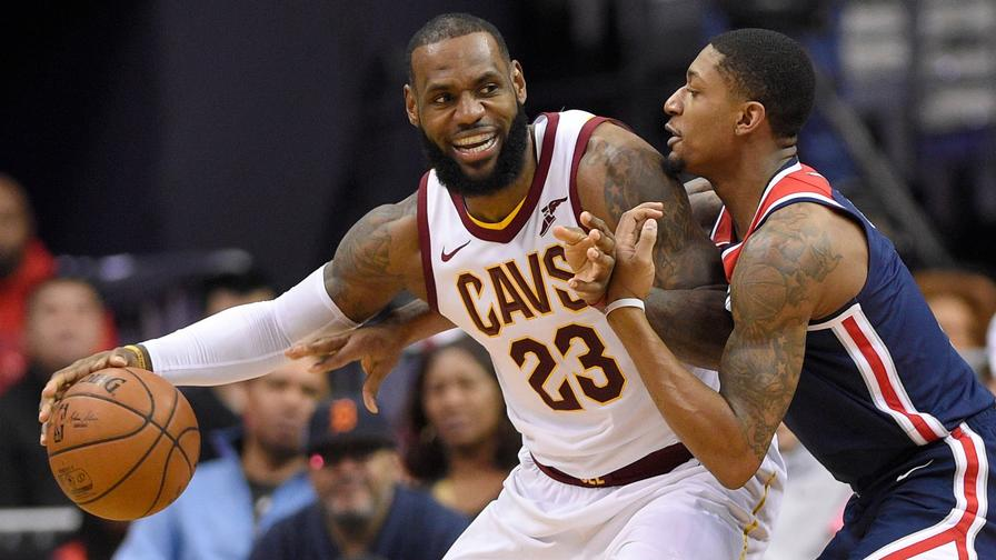 390472f9985 LeBron James has been unstoppable against the Wizards