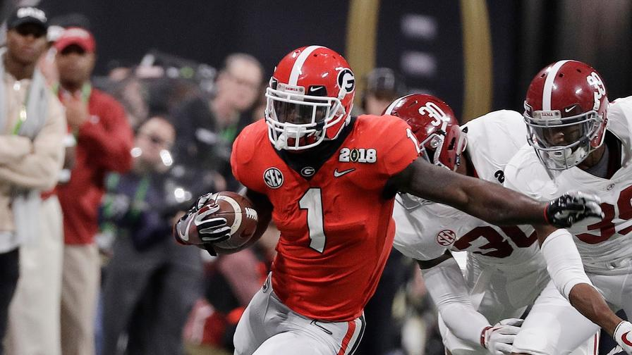 Sony Michel drafted in the first round by New England