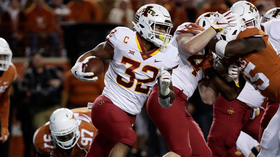 5715befee37a Which Draft-Hopeful Running Backs Produced Like Studs in College