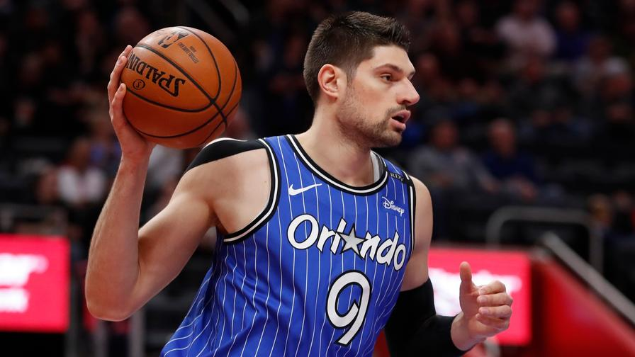 446f654e785 Nikola Vucevic draws a soft matchup against a depleted Hawks frontcourt.  Could he finish as tonight s top scorer on DraftKings